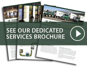See our Dedicated Services Brochure