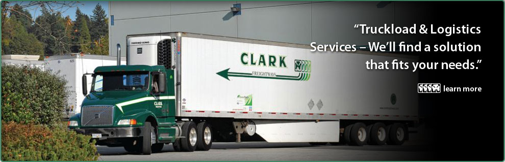 """Truckload & Logistics Services – We'll find a solution that fits your needs."""
